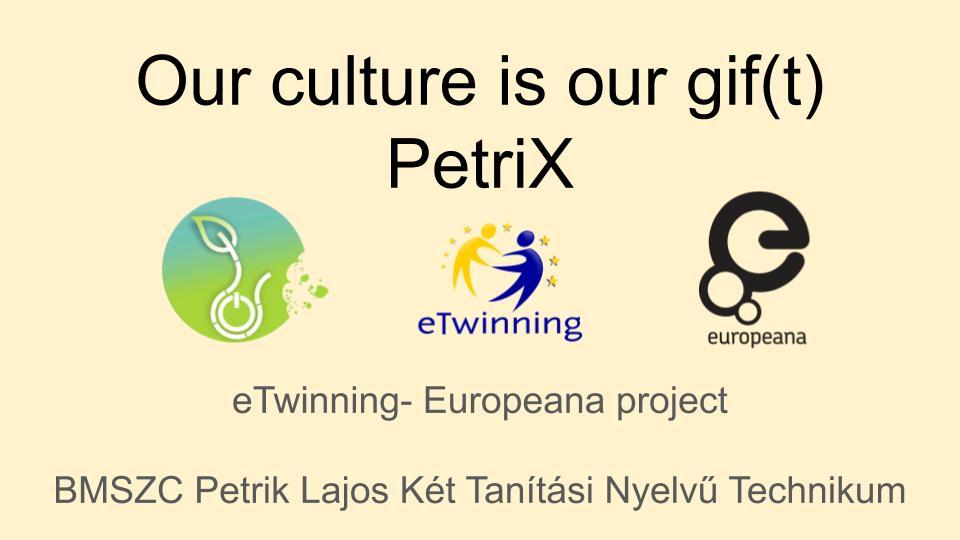 Újra nyertes a Petrik csapata az Országos eTwinning versenyen