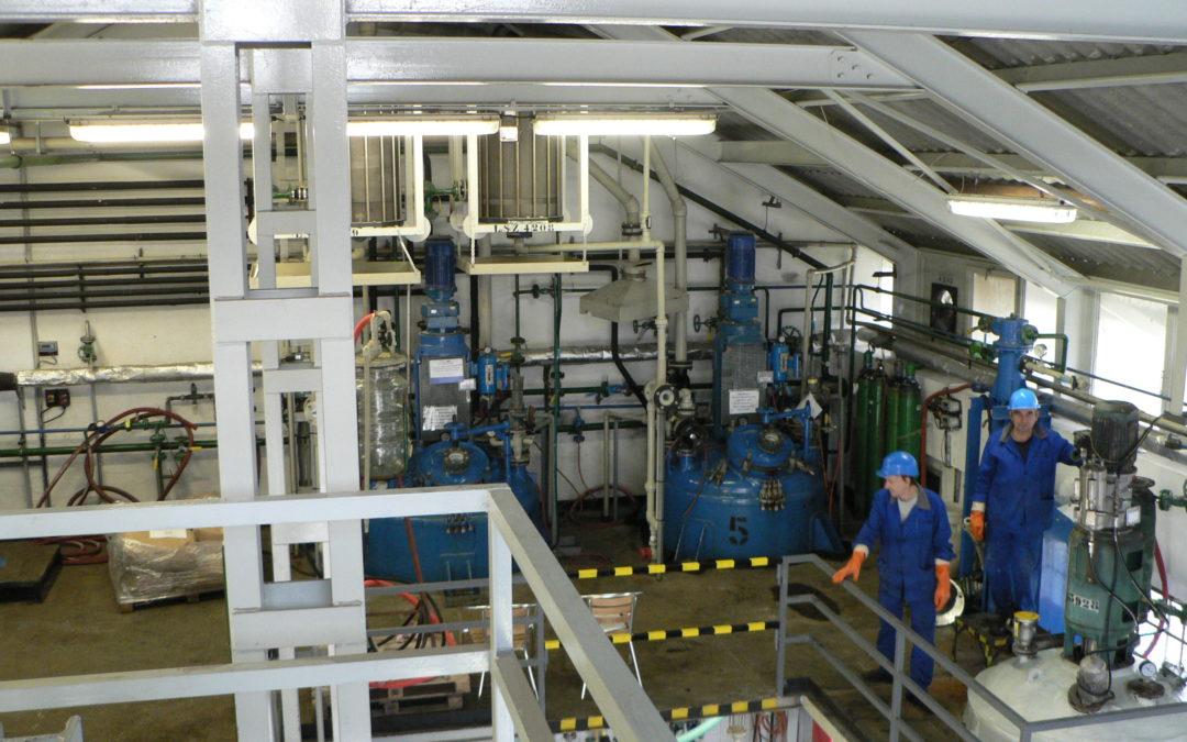 Első Vegyi Industria Zrt – Vegyésztechnikus
