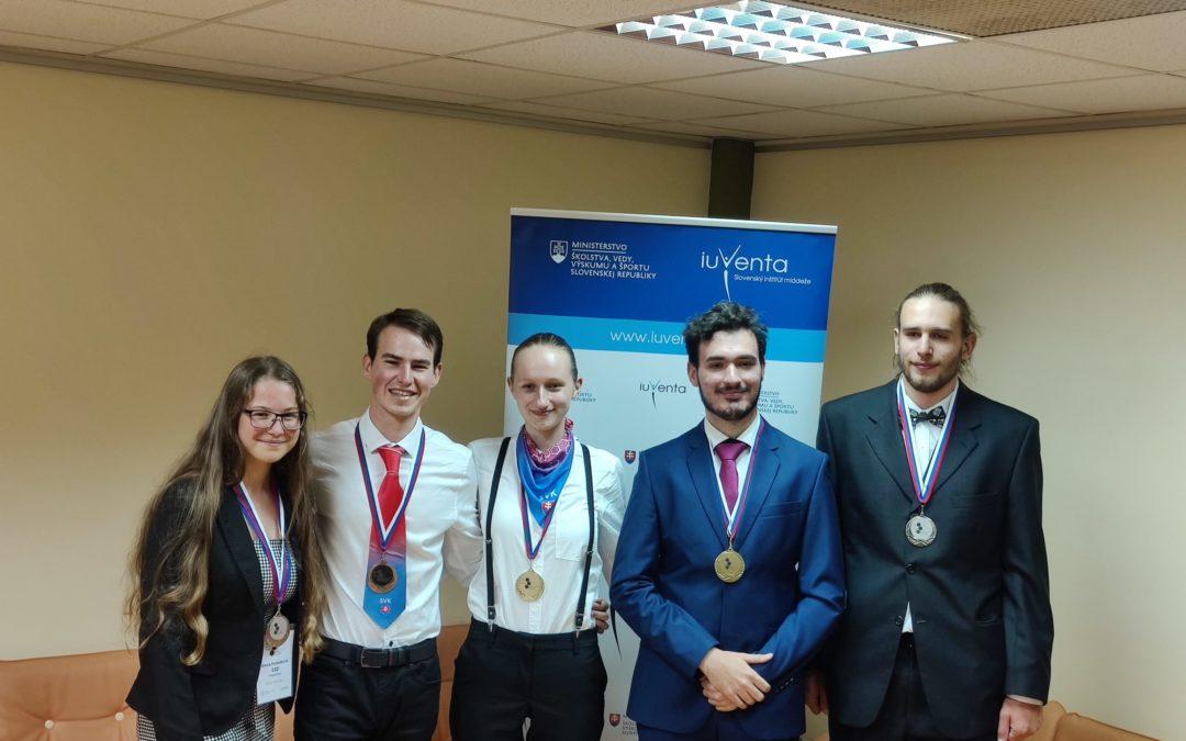 Volt diákunk aranyérmet szerzett A XV. Grand Prix Chimique-en