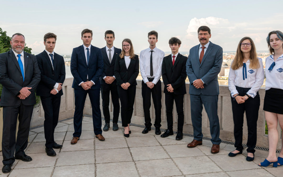 "Diákjaink a ""Stockholm Junior Water Prize Hungary 2020"" díjazottjai között"