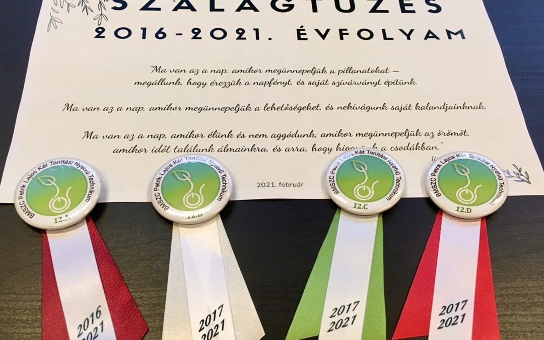 Szalagtűző ünnepség – 2021